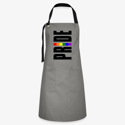 Vertical Pride with LGBTQ Pride Flag - Artisan Apron