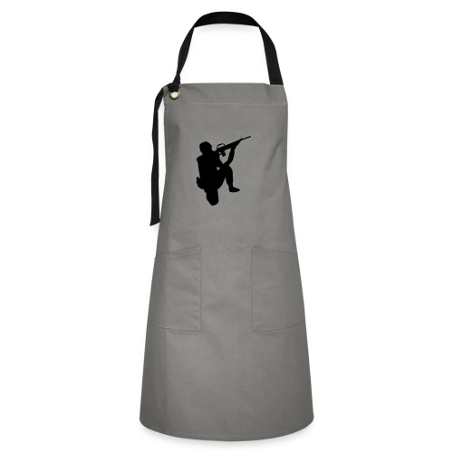 Infantry at ready for action. - Artisan Apron