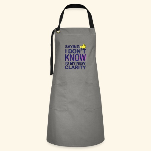 new clarity - Artisan Apron