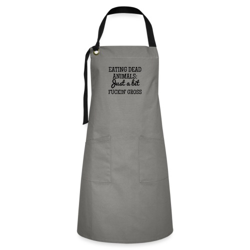 Eating Dead Animals - Artisan Apron