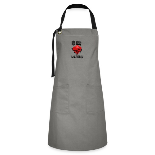 Your'e a Red Rose but a Black Thorn shirt - Artisan Apron
