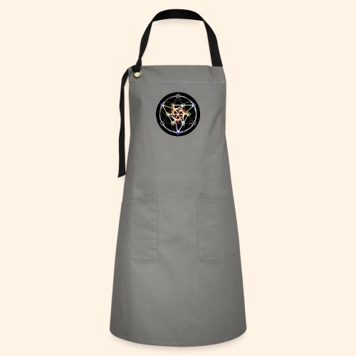 Classic Alchemical Cycle - Artisan Apron