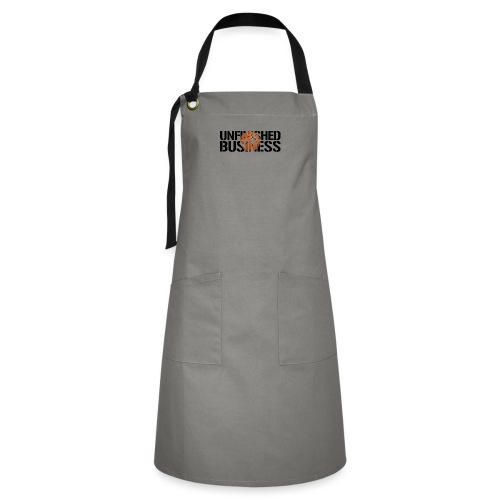 Unfinished Business hoops basketball - Artisan Apron