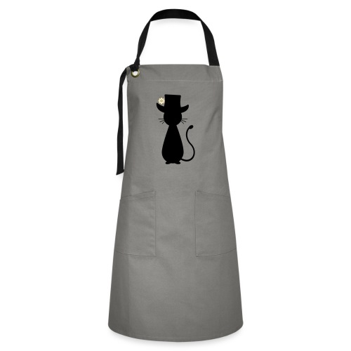 Cats - a Cat with a Hat - Artisan Apron