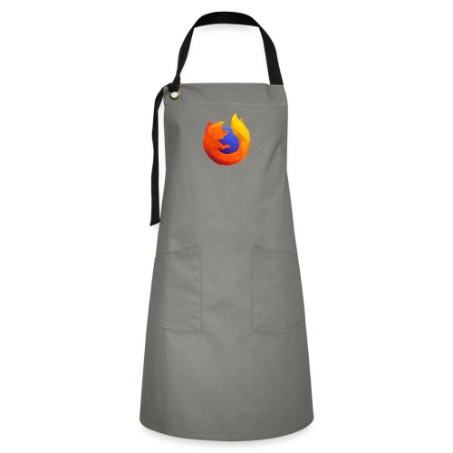Firefox Reality Logo - Artisan Apron