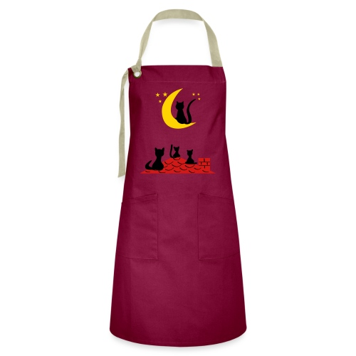 Cats on the roof - Artisan Apron
