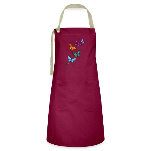 butterfly tattoo designs - Artisan Apron