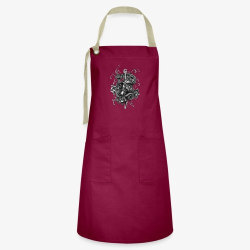 Dagger And Snake - Artisan Apron