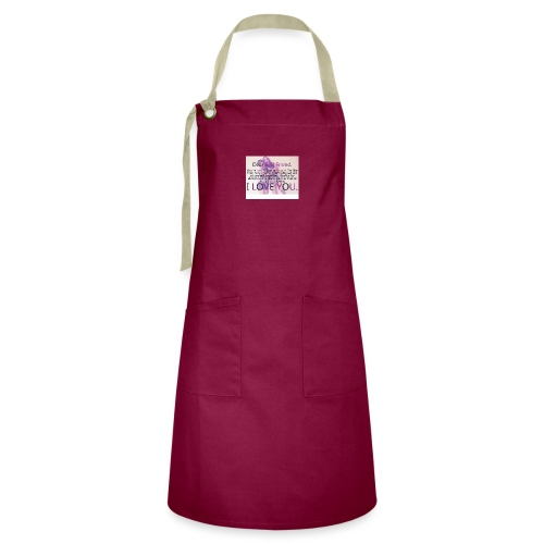 Cute best friends - Artisan Apron