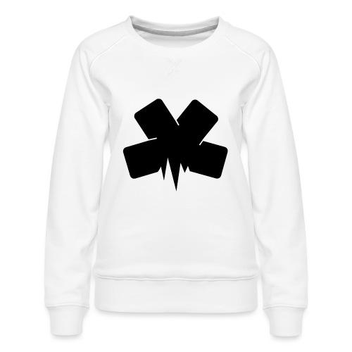 PixelSashay - Black Logo - Women's Premium Sweatshirt