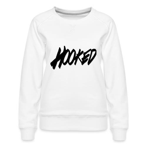 Hooked black logo - Women's Premium Sweatshirt