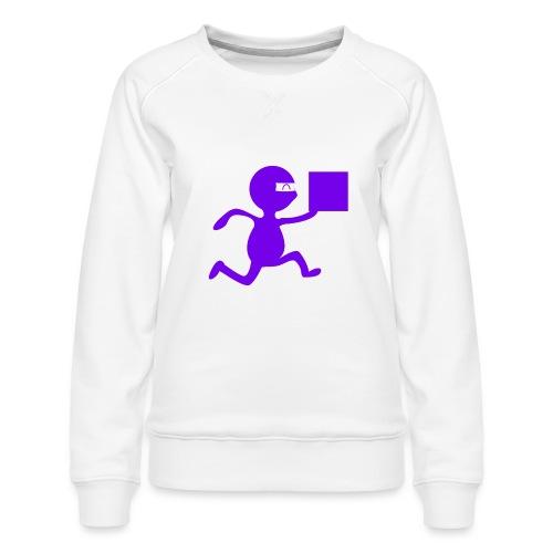 FedEx Ninja - Women's Premium Sweatshirt