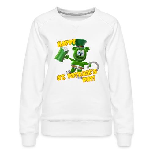 Gummibär (The Gummy Bear) Saint Patrick's Day - Women's Premium Sweatshirt