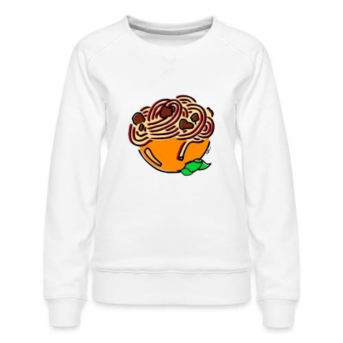 Bolognese Spaghetti - Women's Premium Sweatshirt