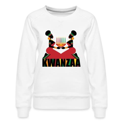 Kwanzaa - Women's Premium Sweatshirt