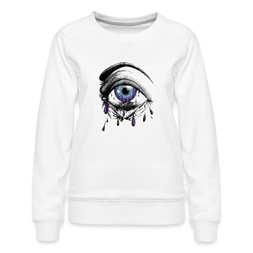 Lightning Tears - Women's Premium Sweatshirt