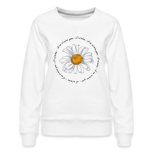 Faust: Marguerite (dark) - Women's Premium Sweatshirt