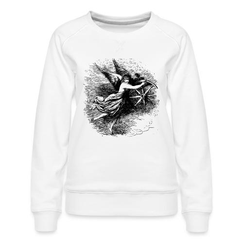 Angel at the helm - Women's Premium Sweatshirt