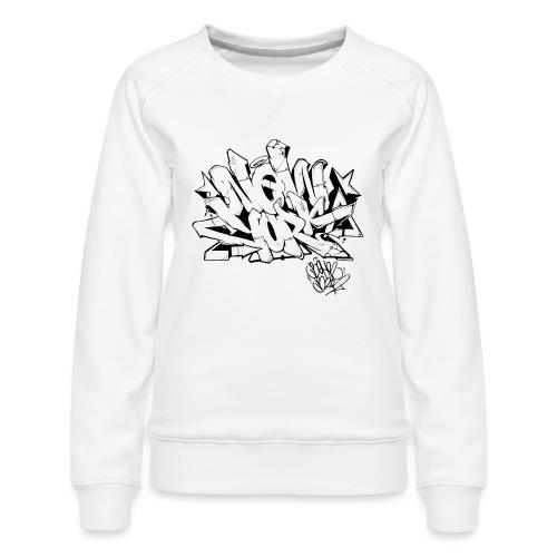 Behr - New York Graffiti Design - Women's Premium Sweatshirt