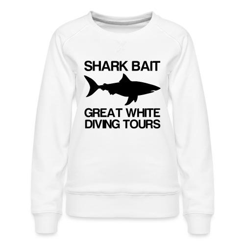 Great White Shark T-Shirt - Women's Premium Sweatshirt