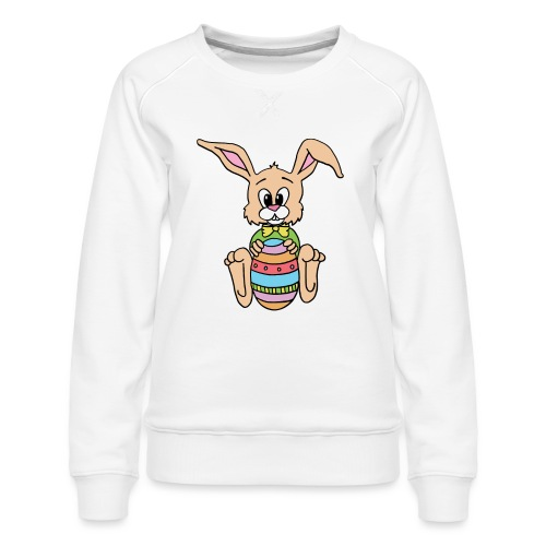 Easter Bunny Shirt - Women's Premium Sweatshirt