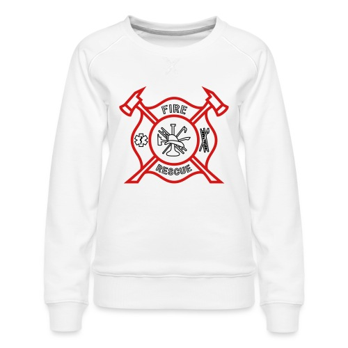 Fire Rescue - Women's Premium Sweatshirt