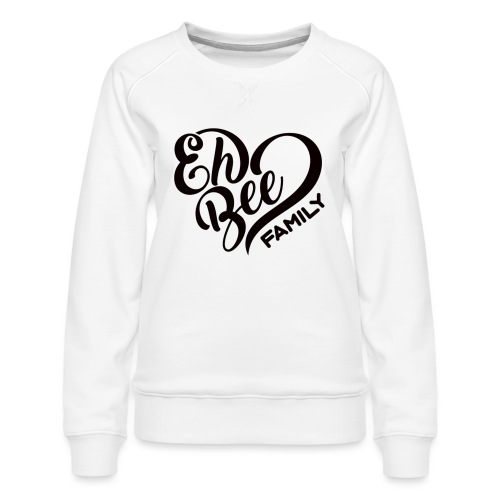 EhBeeBlackLRG - Women's Premium Slim Fit Sweatshirt