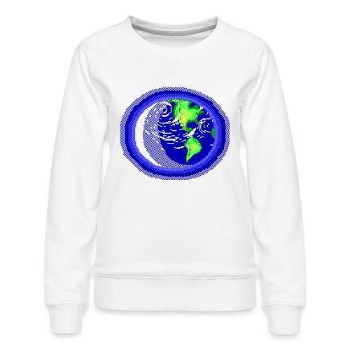 Earth - Women's Premium Sweatshirt