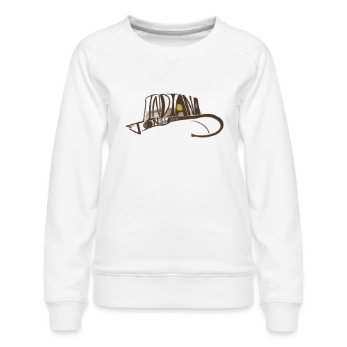 Wear The Hat - Women's Premium Sweatshirt