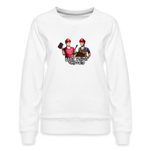 Can't Trust Chilled - Women's Premium Sweatshirt