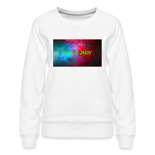 NYAH AND JAZZY - Women's Premium Sweatshirt