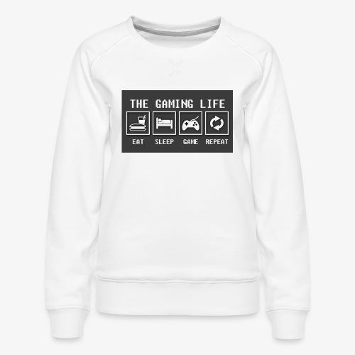 Gaming is life - Women's Premium Sweatshirt