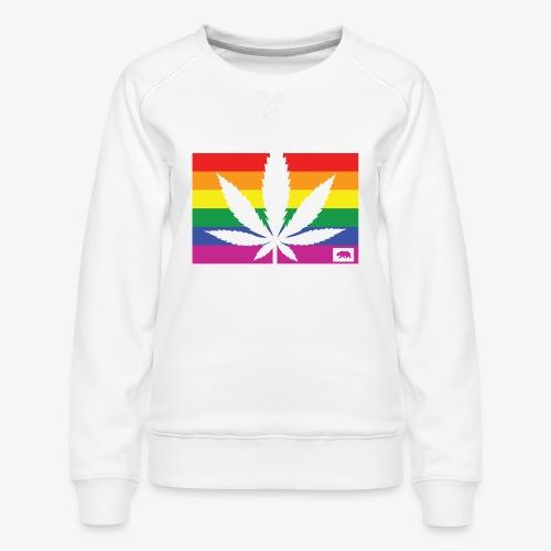 California Pride - Women's Premium Sweatshirt