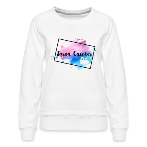 Jason Caceres Opening Intro Logo - Women's Premium Sweatshirt