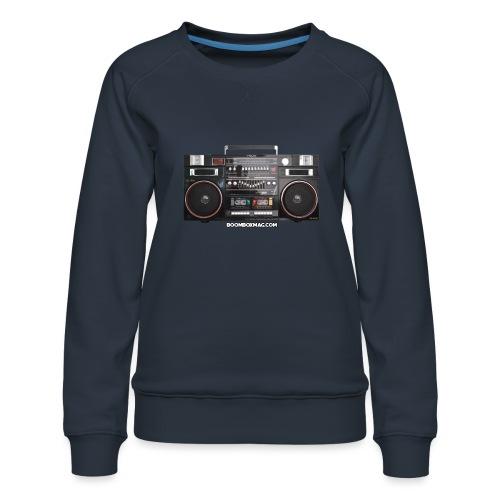 Helix HX 4700 Boombox Magazine T-Shirt - Women's Premium Sweatshirt