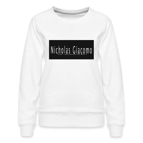 Nick_logo_shirt - Women's Premium Sweatshirt