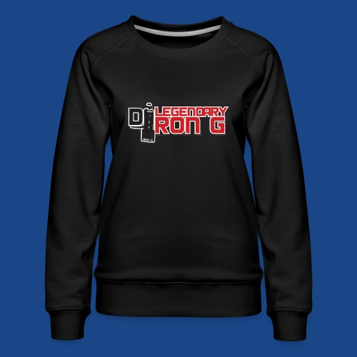 Ron G logo - Women's Premium Sweatshirt