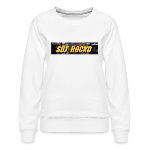 RockoWear Banner - Women's Premium Sweatshirt