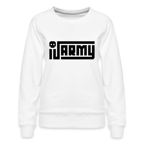 iJustine - iJ Army Logo - Women's Premium Sweatshirt