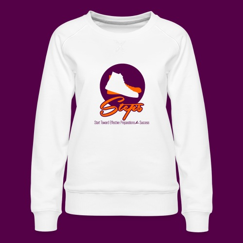 steps_logo1 - Women's Premium Sweatshirt