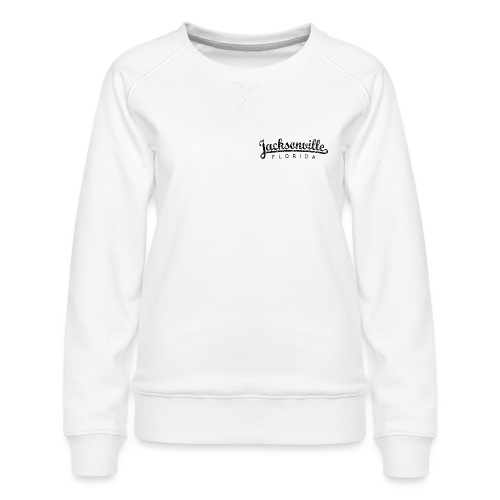 Jacksonville, Florida Classic (Ancient Black) - Women's Premium Sweatshirt
