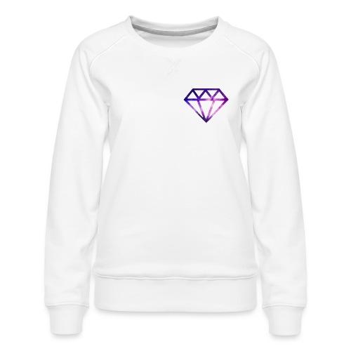 The Galaxy Diamond - Women's Premium Sweatshirt