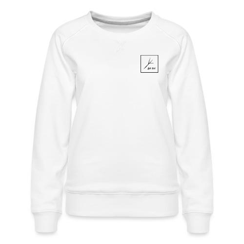Black Square - Women's Premium Slim Fit Sweatshirt