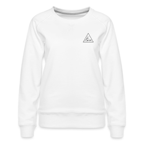 Black Triangle - Women's Premium Slim Fit Sweatshirt