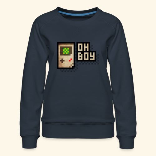 Oh Boy - Women's Premium Sweatshirt