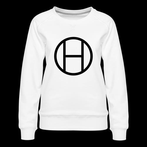 logo premium tee - Women's Premium Slim Fit Sweatshirt