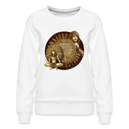 Raices Aztecas by RollinLow - Women's Premium Sweatshirt
