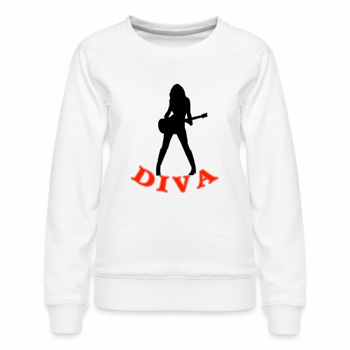 Rock Star Diva - Women's Premium Sweatshirt
