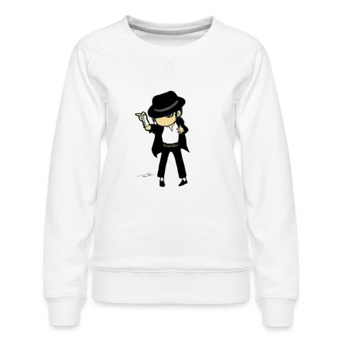 KOP Vector Art - Women's Premium Sweatshirt