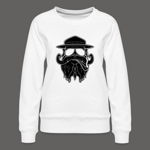 OldSchoolBiker - Women's Premium Sweatshirt